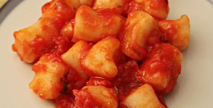 Gnocchi di Manioca al Pomodoro