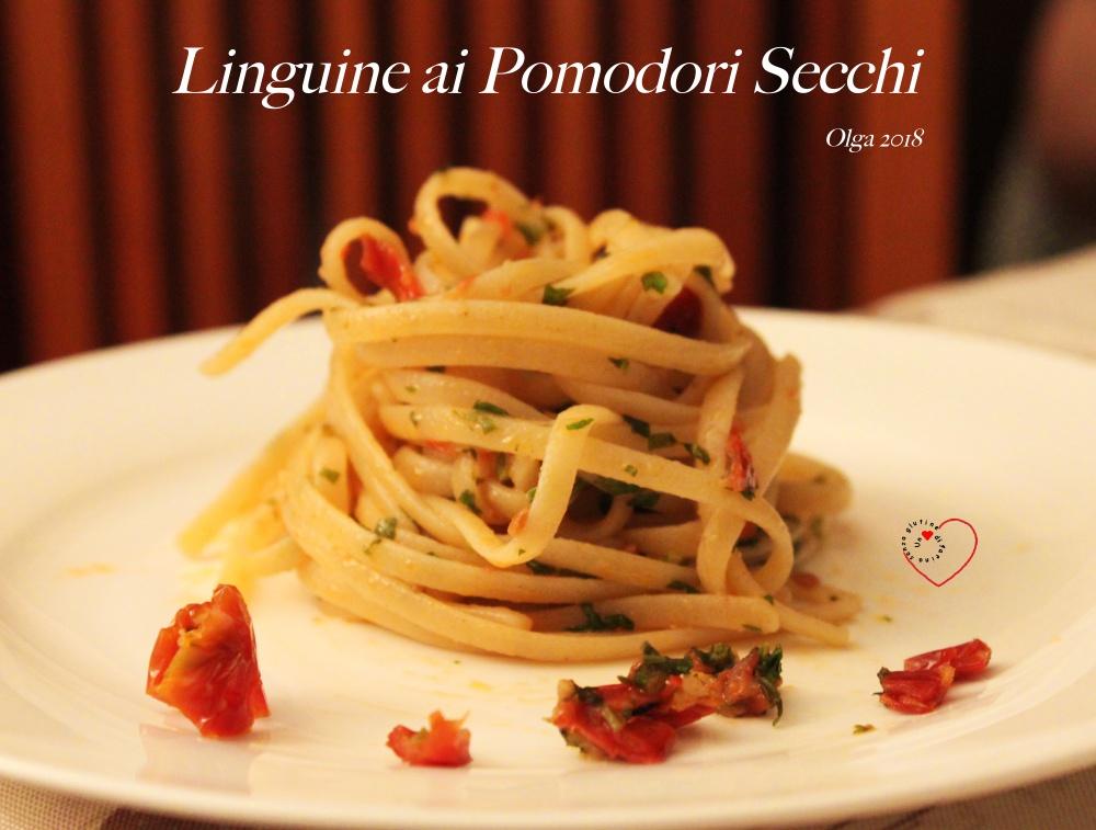 Linguine ai Pomodori Secchi