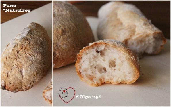 Compariamo: Nutrifree Pane 1kg - Auchan Pane 1 kg