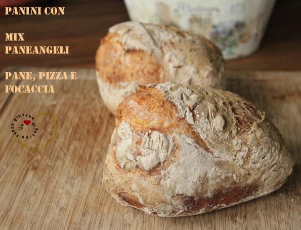 Panini con Mix Paneangeli pane, pizza e focaccia