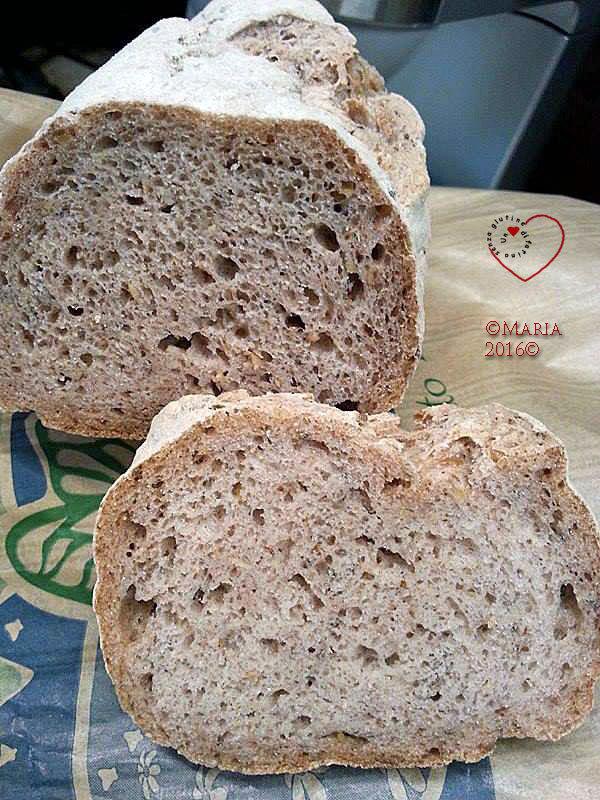 """Il """"Pane Canta..."""": Pagnotta Integrale con Mix Naturalmente Senza Glutine"""