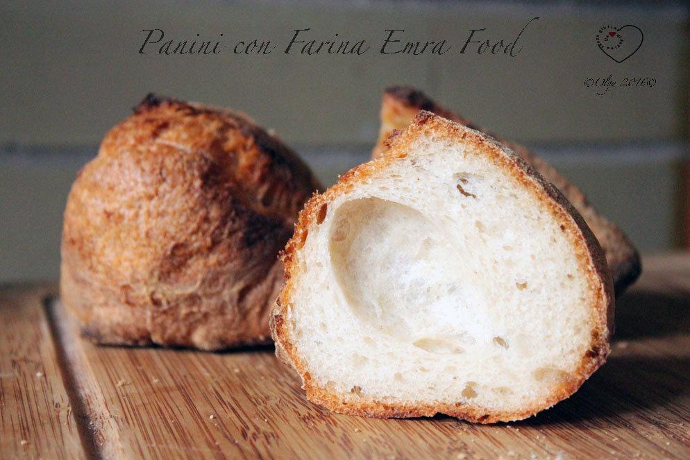 Panini Bianchi con Farina Emra Food