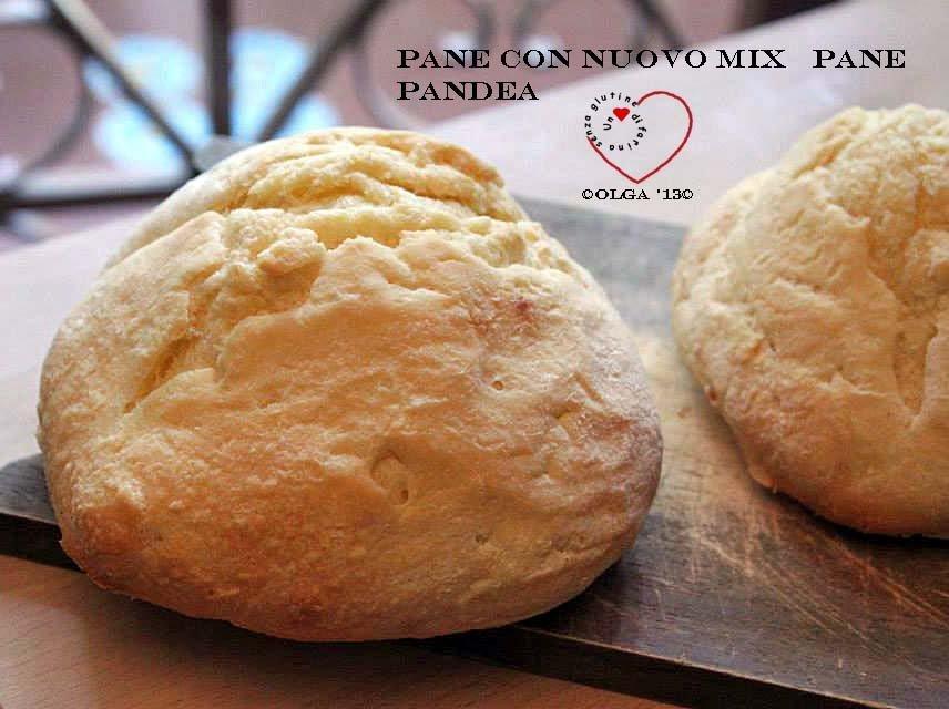 Pane con Nuovo Mix Pane Pandea