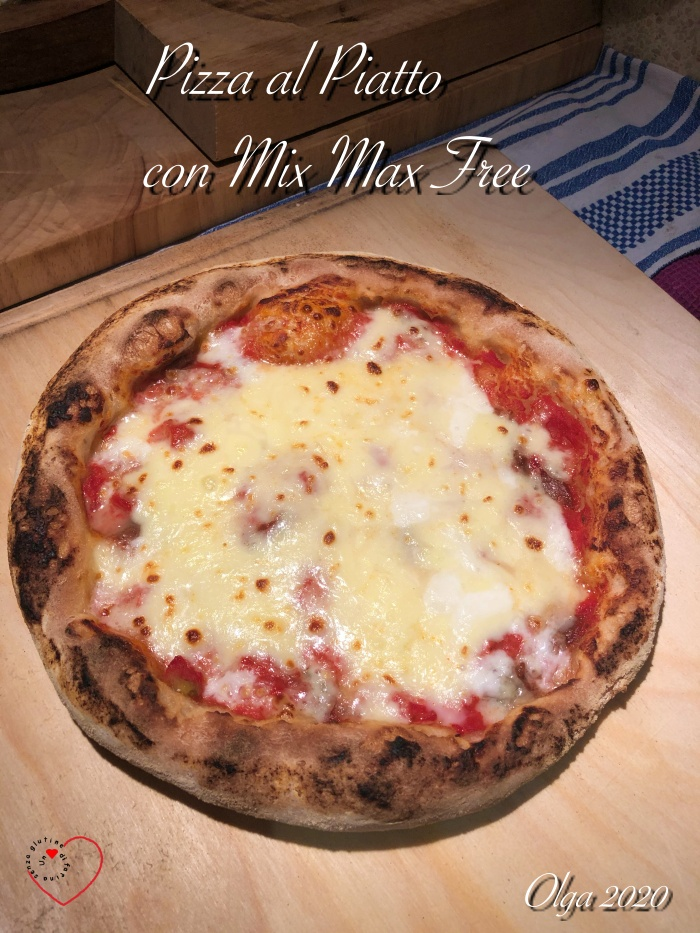 Pizza al Piatto con Mix Max Free