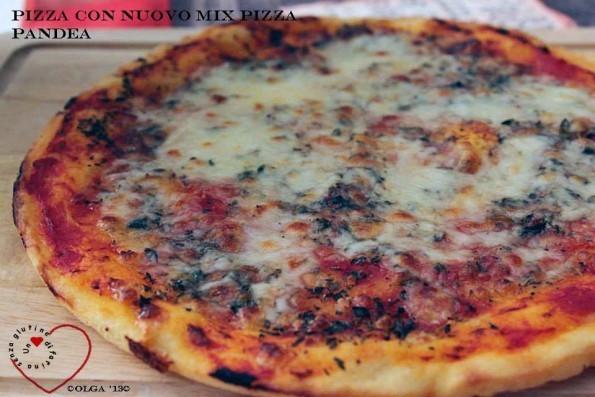 Pizza con Nuovo Mix Pizza Pandea