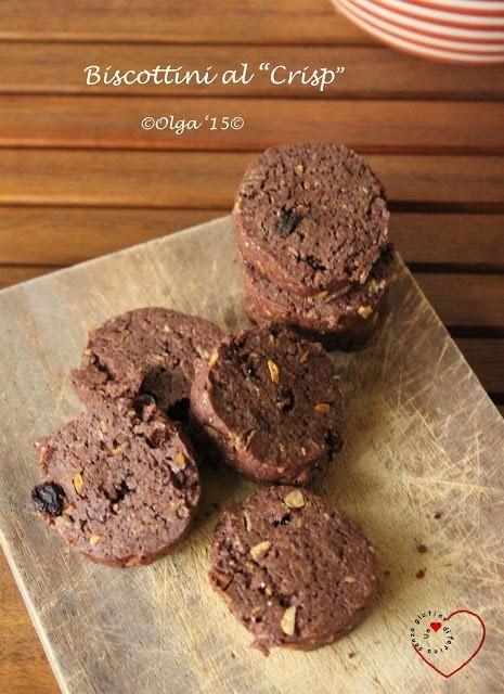"Biscottini ""Crisp"" al Cacao e Muesli"