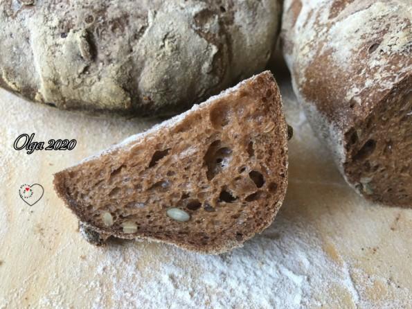 Pane a Lievitazione Naturale con Mix Royaline Miscela alla Carruba