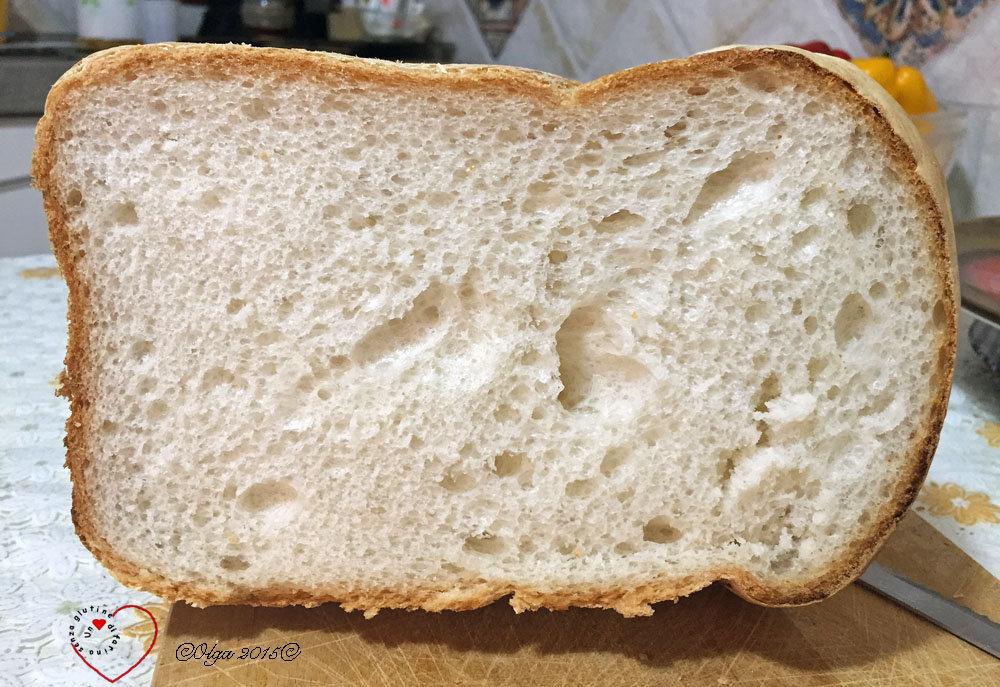 Pane con Pasta di Riporto in Macchina del Pane