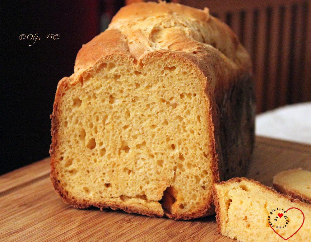 Pane Dolce Con Macchina Del Pane Un Cuore Di Farina Senza Glutine