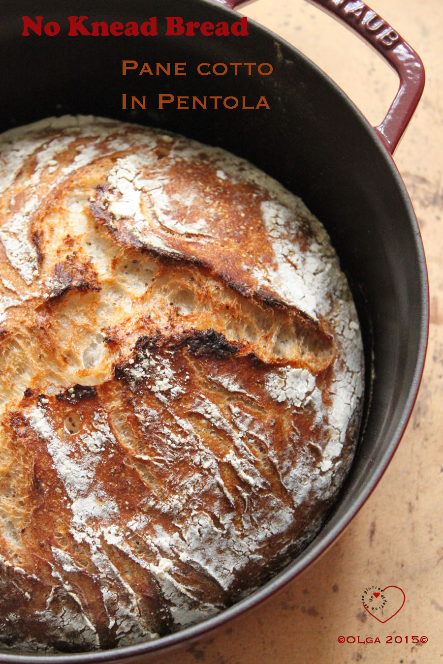 Cottura in Pentola&No Knead Bread