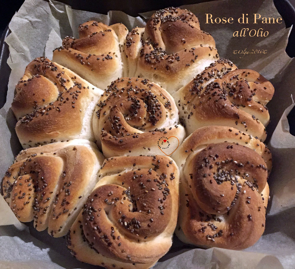 Rose di Pane all'Olio: Video Ricetta