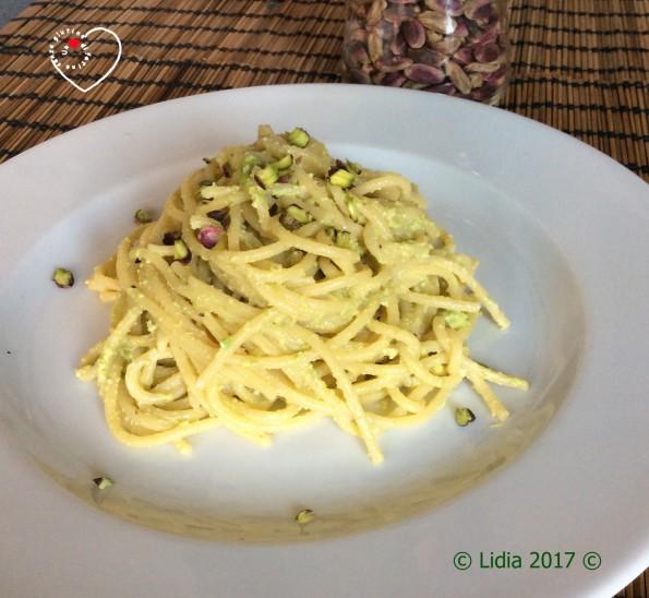 spaghetti-pistacchio