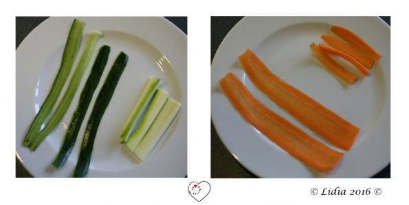 zucchine carote