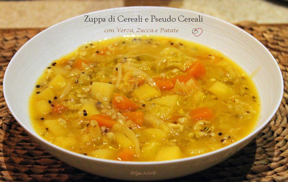 """Zuppa """"Fai da Te"""" con Verza, Zucca e Patate"""