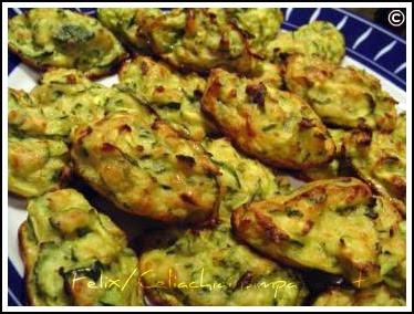 Palline di Zucchine
