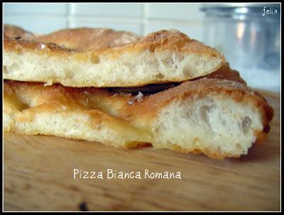 Pizza Bianca Tipo Romana