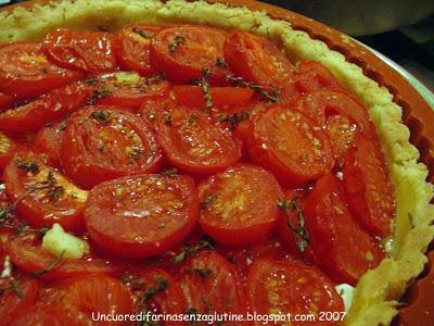 Crostata di pomodori Senza Glutine - Pasta Frolla Salata