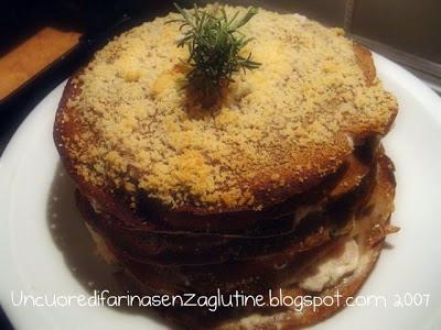 Tortino di Crepes di Castagne Senza Glutine