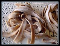 Tagliatelle di castagne senza glutine