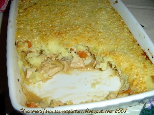 Sformato di Pollo e Patate