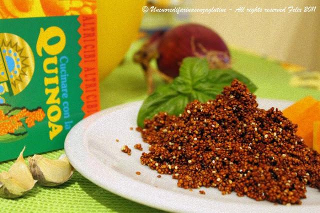 Crema di Zucca e Quinoa Rossa