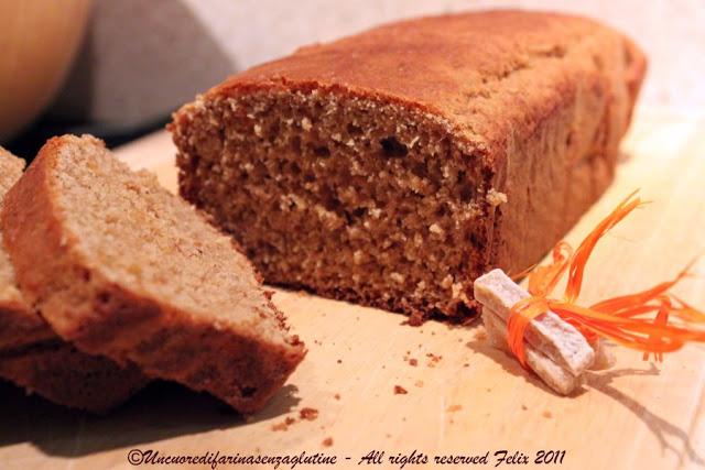 Pan di Spezie o Pain d'Epice - Gluten Free