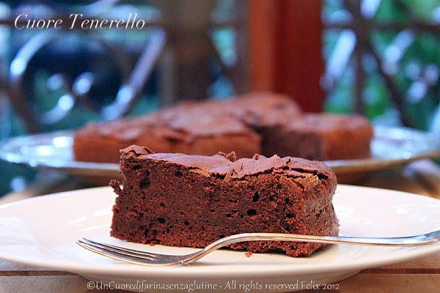 Cuore Tenerello – Torta Tenerina