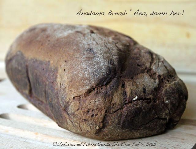Anadama Bread Gluten Free
