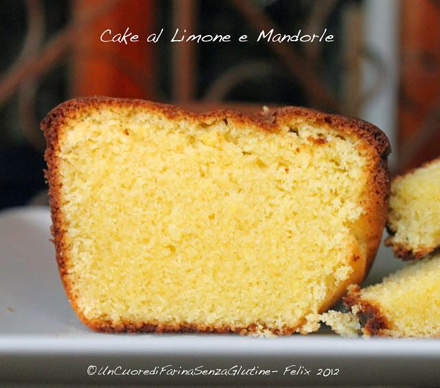 Cake al Limone e Mandorle