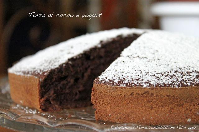 Torta al Cacao e Yogurt e... una Crostatina :)