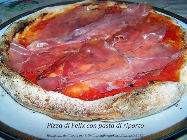 Pizza Felix con Pasta di Riporto by Giorgio :)
