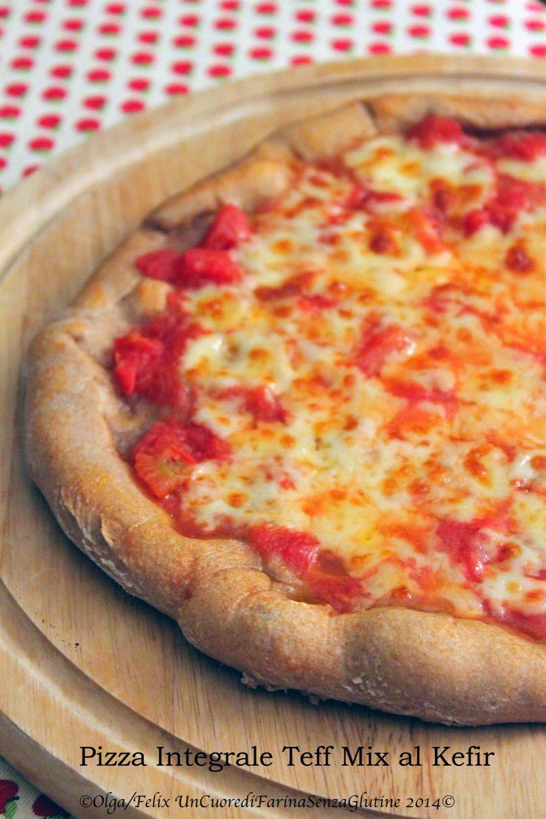 Pizza Integrale con Siero di Kefir