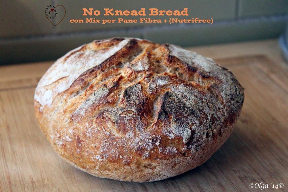 No Knead Bread con Nutrifree Fibra +