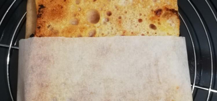 Pizza al taglio sarda o Pizza da passeggio