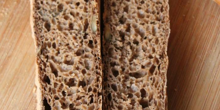 Panini con Mix di farine per Pane Nero LoConte/Le Farine Magiche