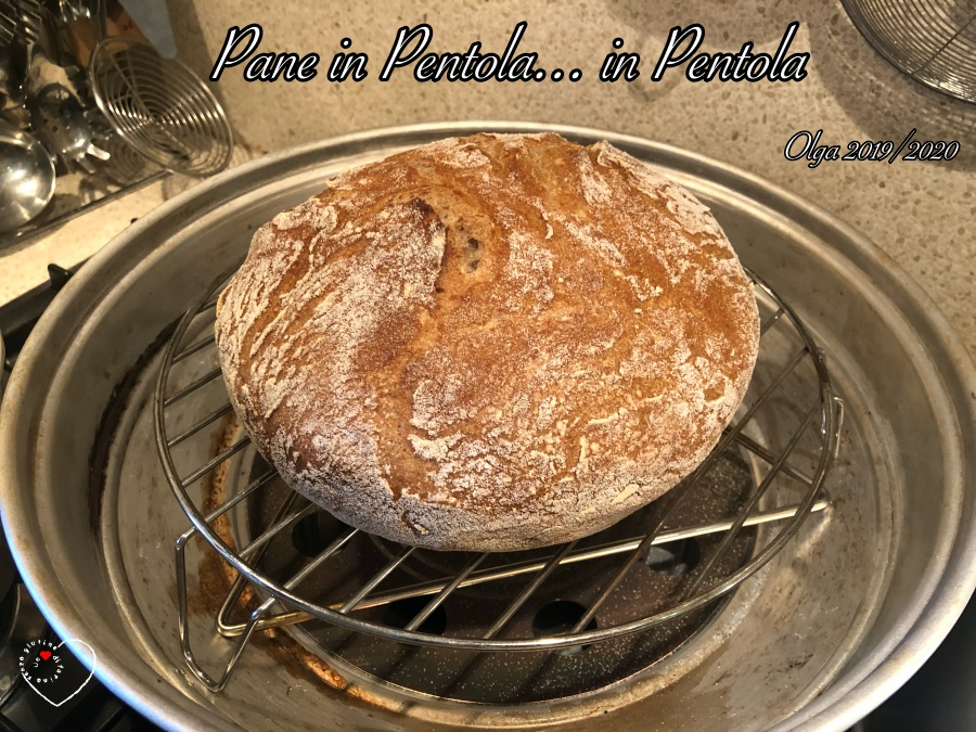 Pane in Pentola in... Pentola!  (Fornetto Estense)