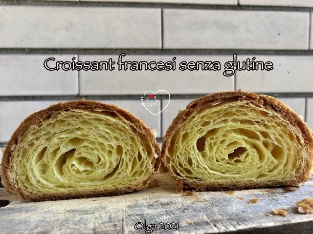 Croissant Francesi senza glutine con Mix Sfoglia Ori di Sicilia