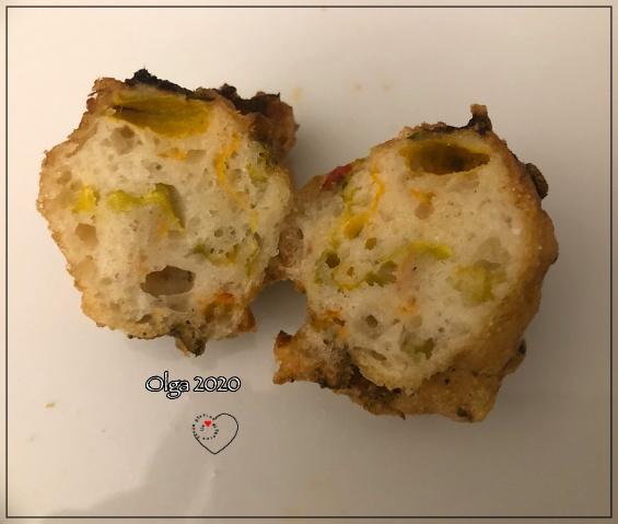 Frittelle di Fiori di Zucca con Mix Pizza l'Altro Gusto
