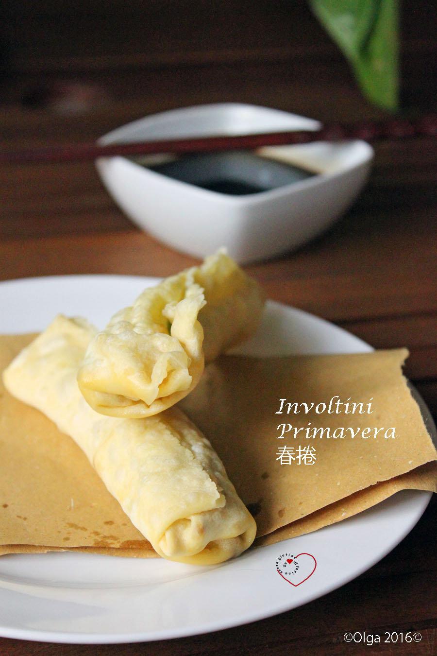 Involtini Primavera - Pasta Wonton