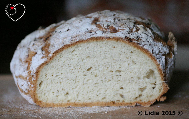 Pagnotta con farine naturalmente prive di glutine