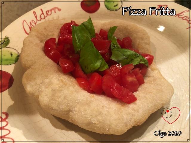 Pizza Fritta con Mix pizza l'Altro Gusto