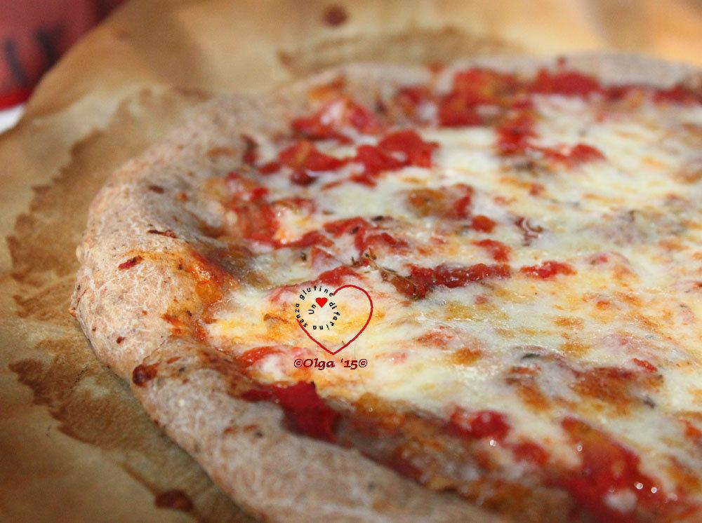 Focaccia e Pizza 1g di lievito con Mix di farine naturalmente senza glutine