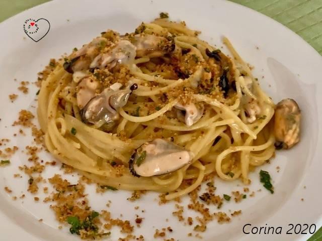 Spaghetti Pecorino e Cozze